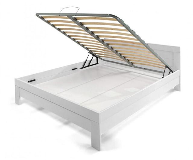 Lesena postelja Masiva Box